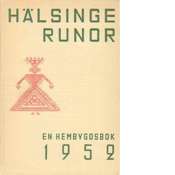 Hälsingerunor 1952 - Red.