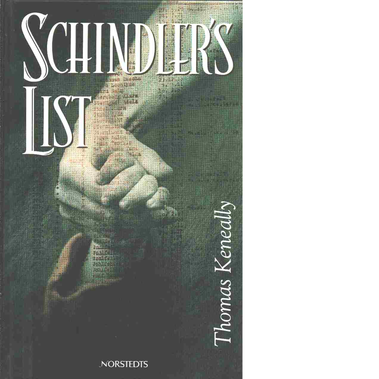 Schindler's list - Keneally, Thomas