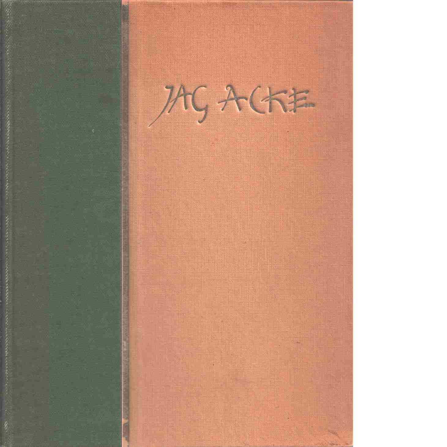 Osannolika historier / av J.A.G. Acke - Acke, J. A. G