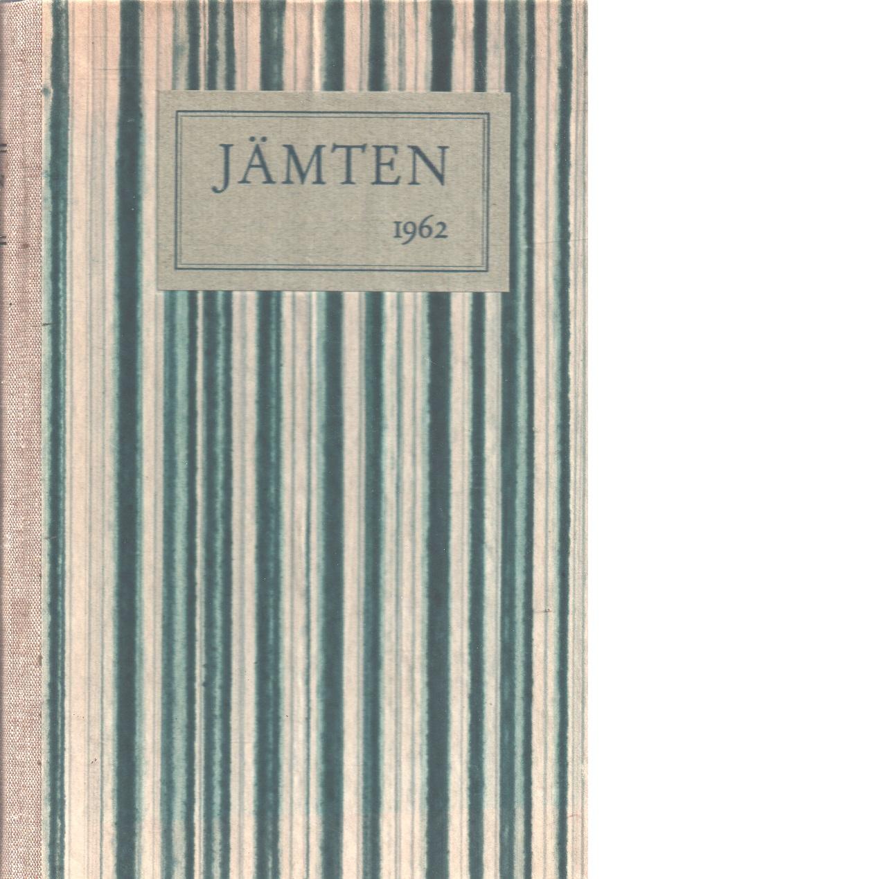 Jämten 1962 - Björkquist, Lennart