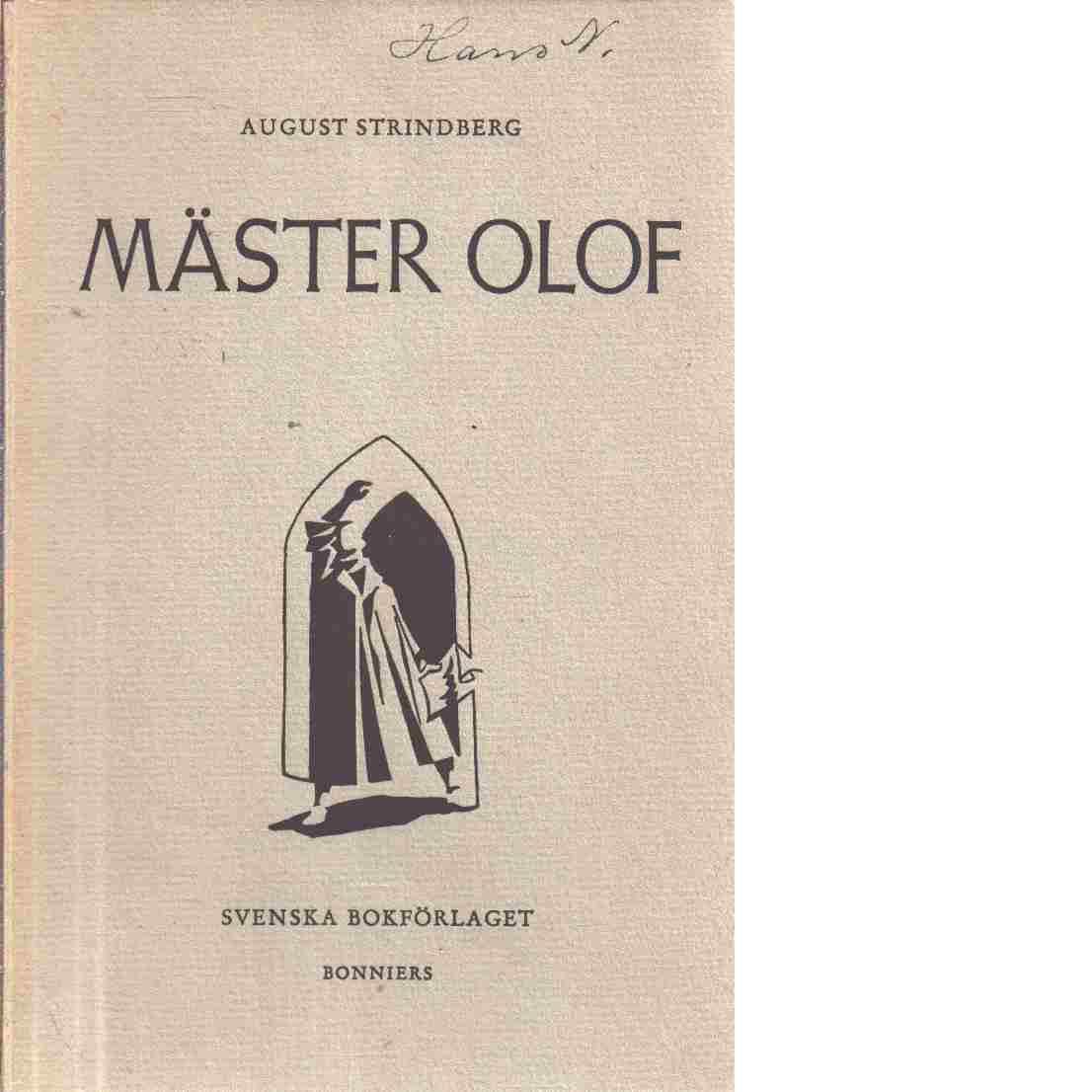 Mäster Olof - Strindberg, August