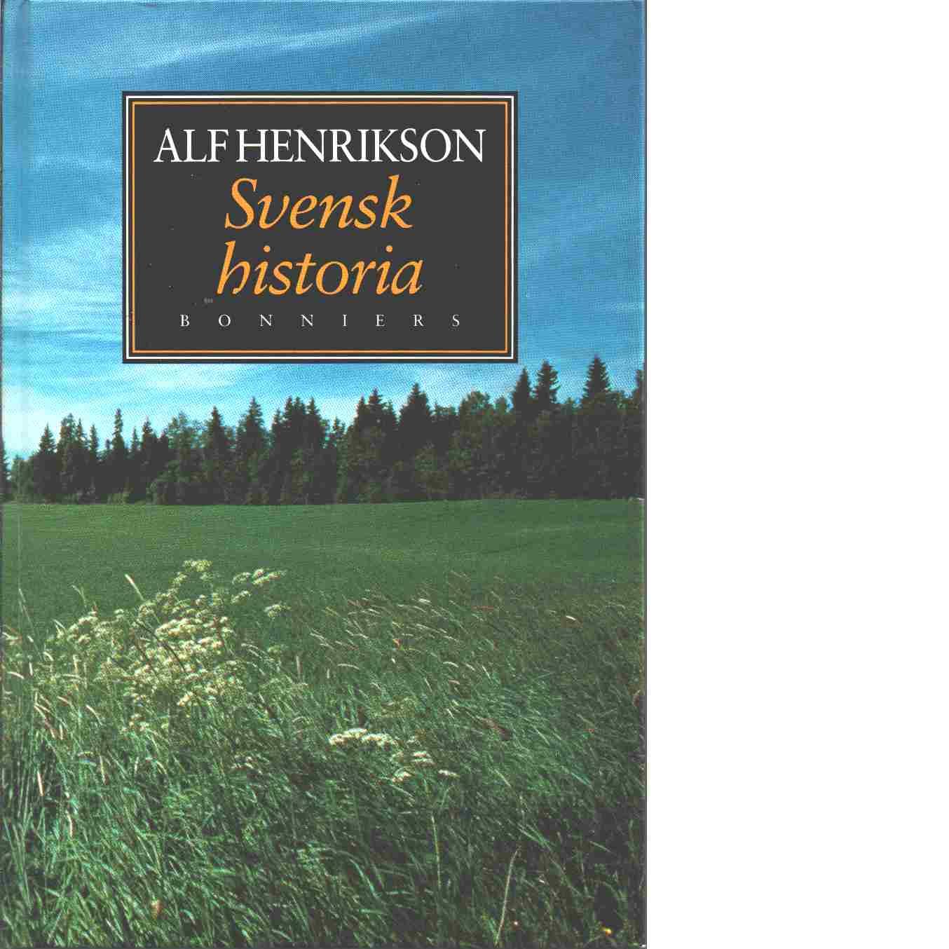 Svensk historia - Henrikson, Alf