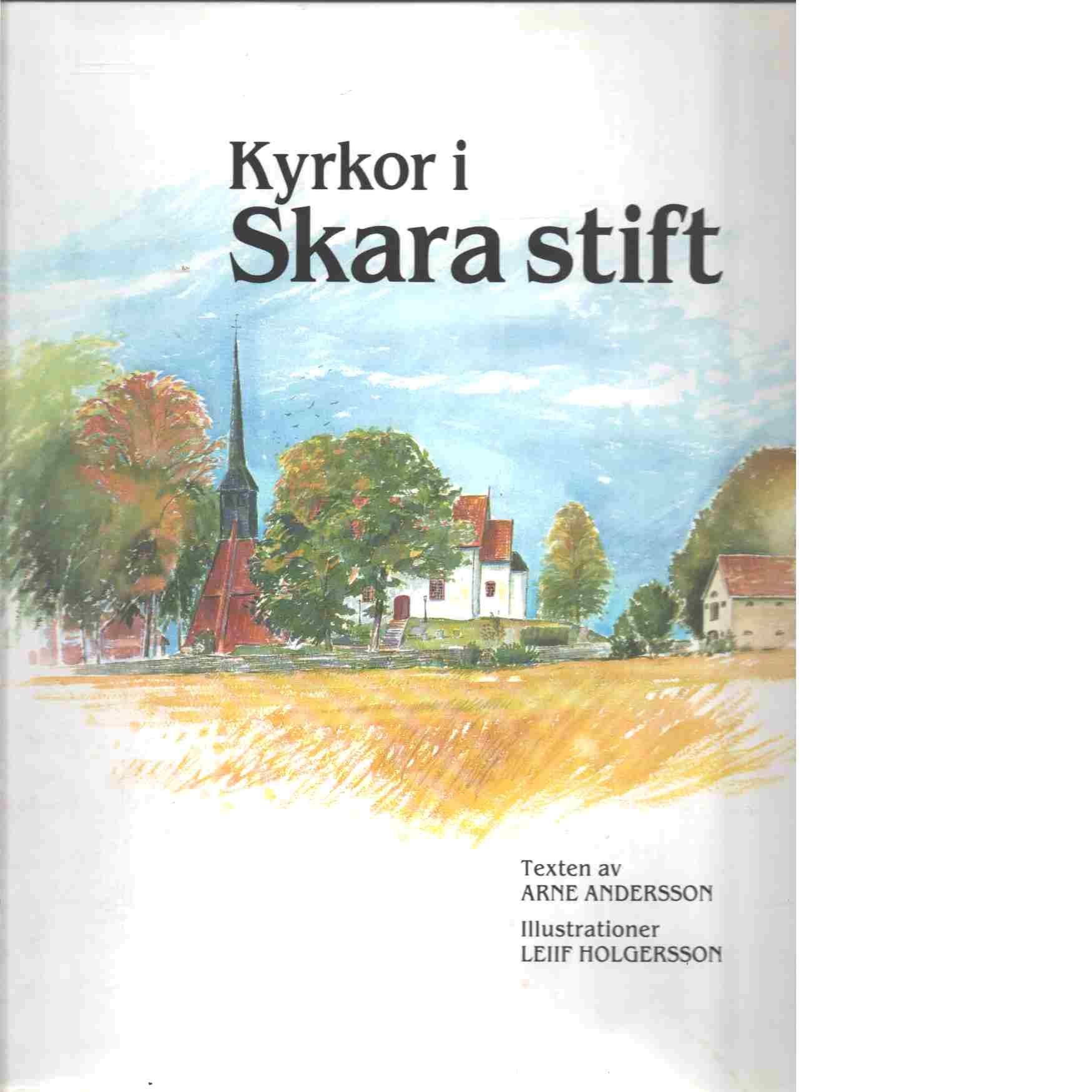 Kyrkor i Skara stift. [1] - Andersson, Arne