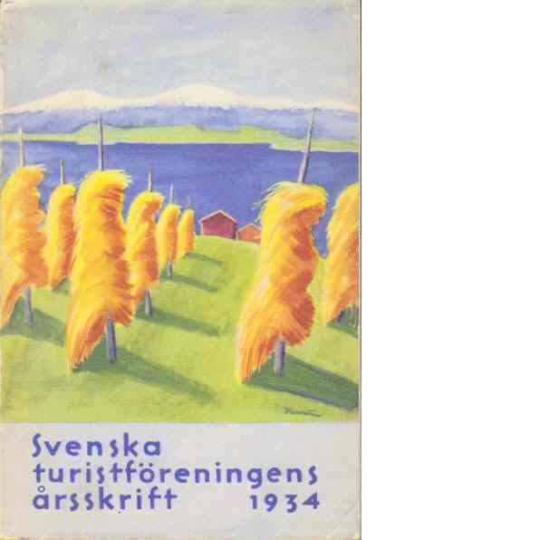 STF:s årsskrift 1934 - Jämtland - Red.