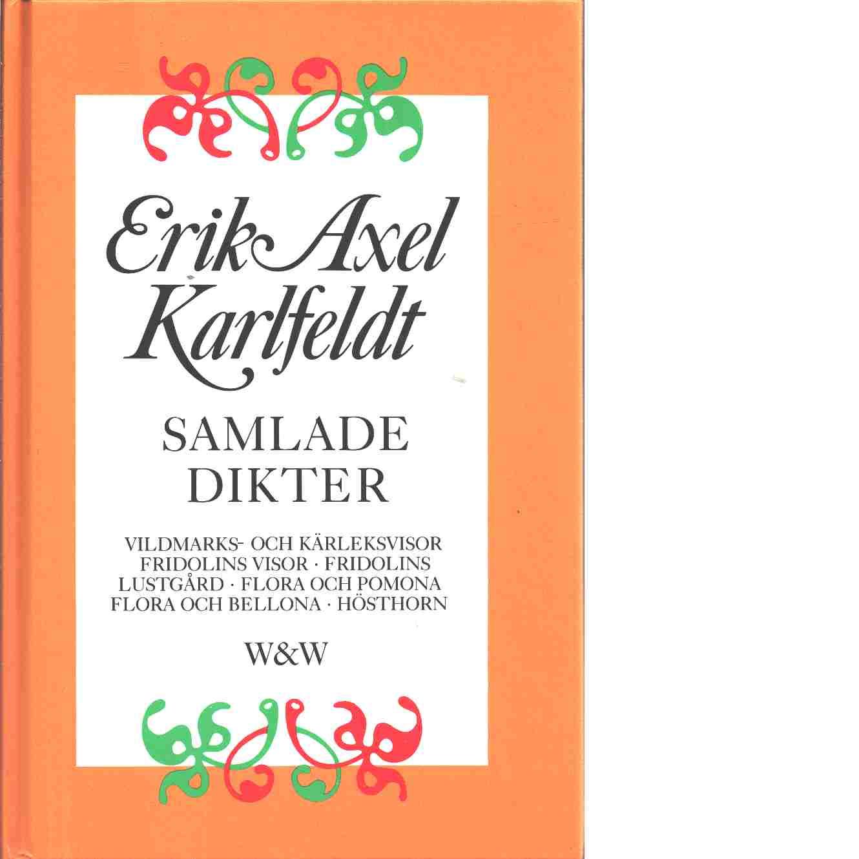 Samlade dikter - Karlfeldt, Erik Axel