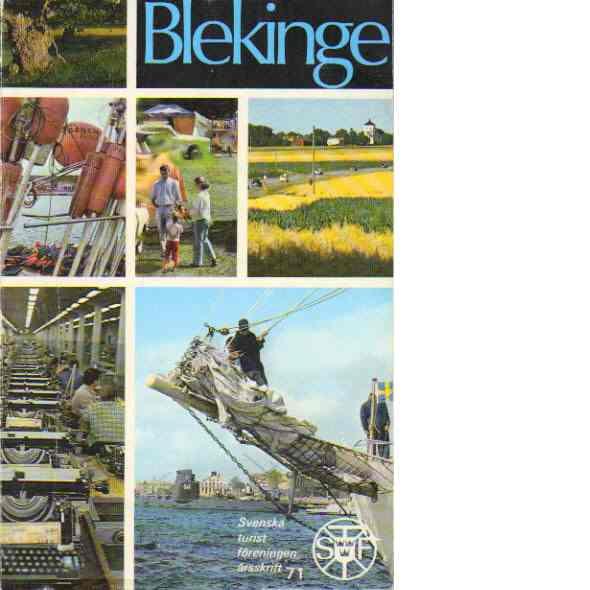 STF:s årsskrift 1971 - Blekinge - Red.