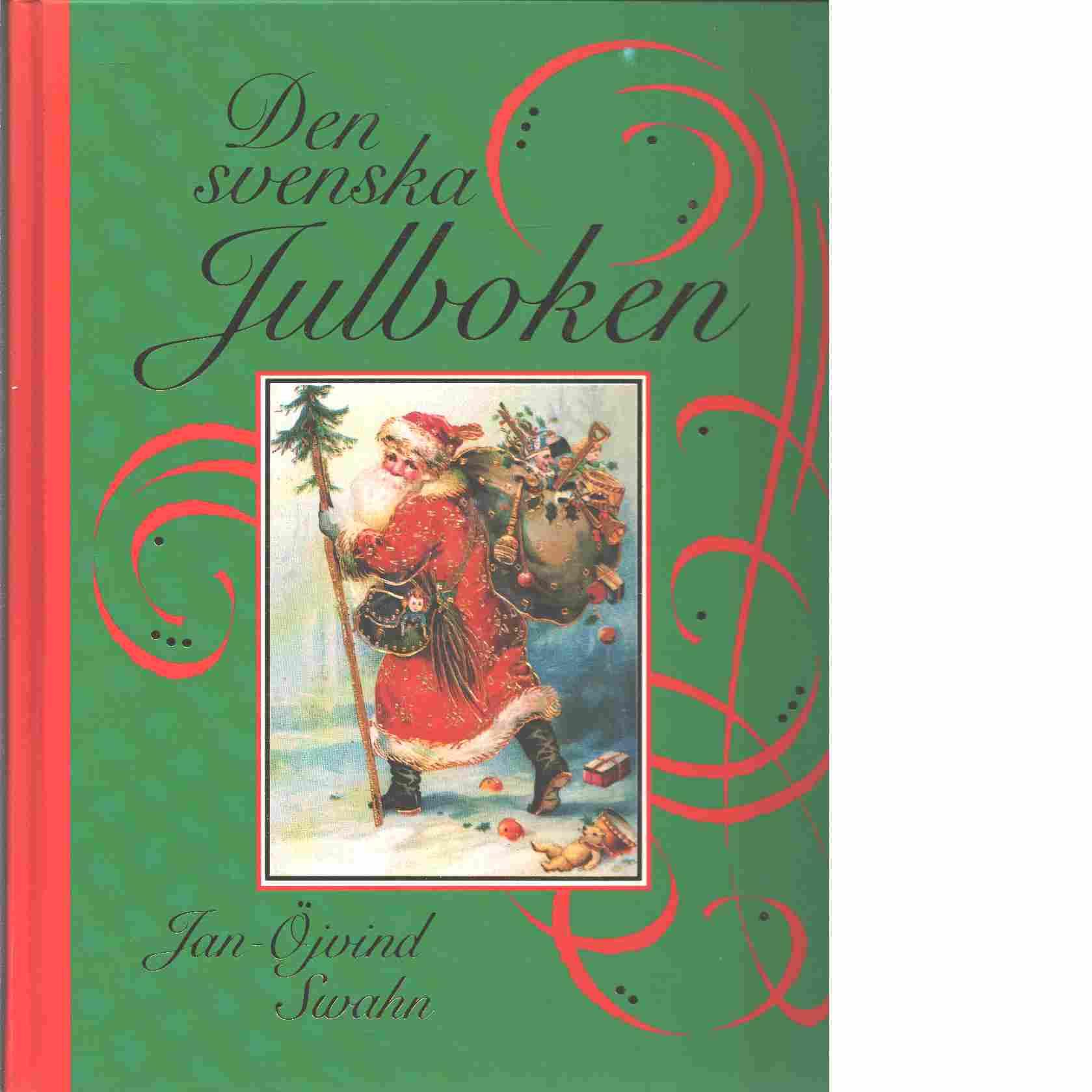 Den svenska julboken - Swahn, Jan-Öjvind