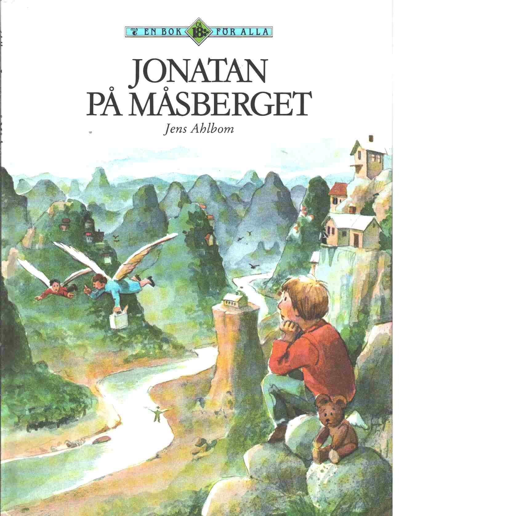 Jonatan på Måsberget - Ahlbom, Jens