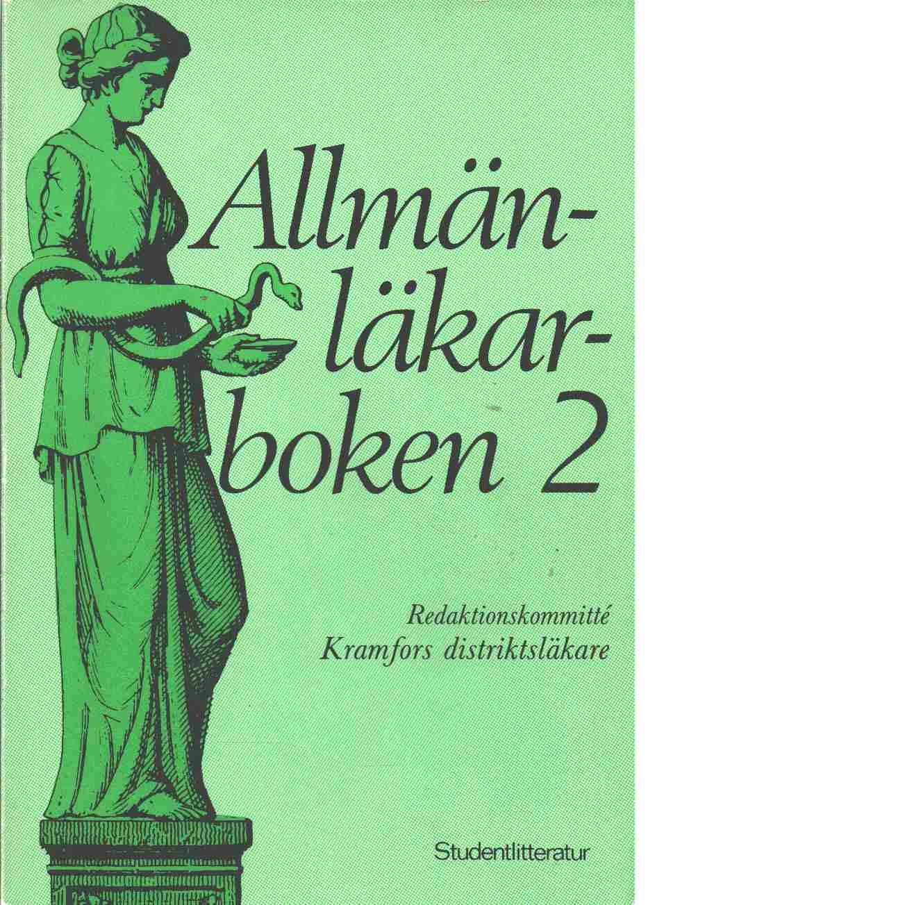 Allmänläkarboken. [2] - Red. Carlsson, Göran