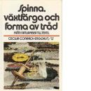 Spinna, växtfärga och forma av tråd : från naturfiber till textil - Conradi-Engqvist, Cecilia