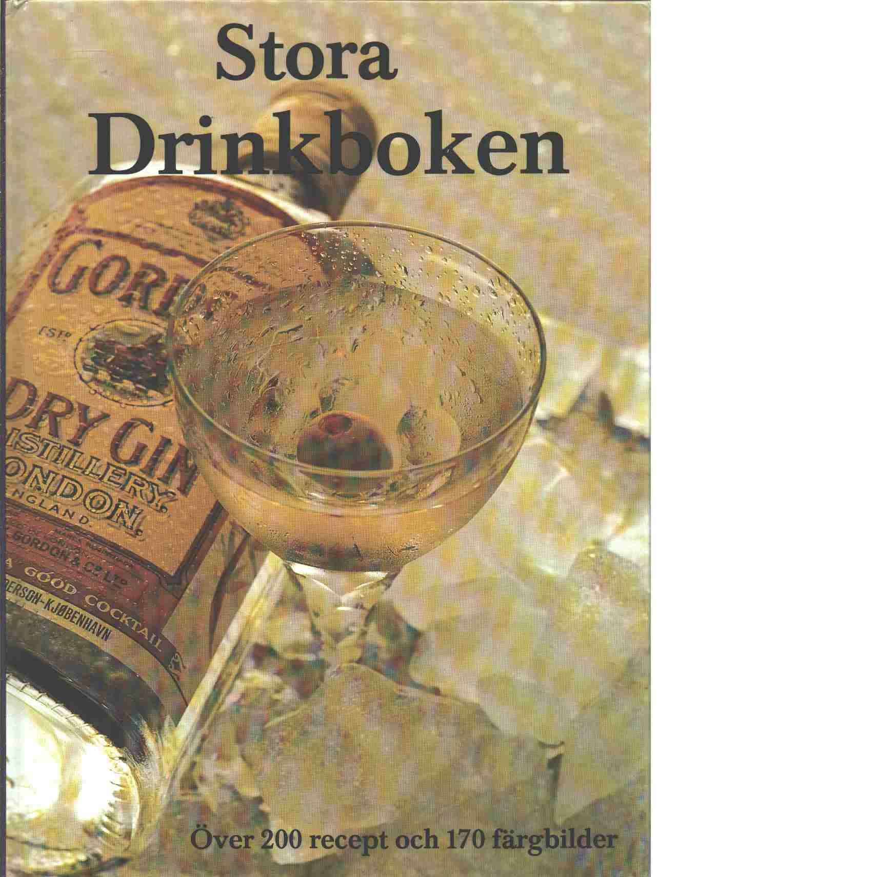 Stora drinkboken - Tardini, Ellis