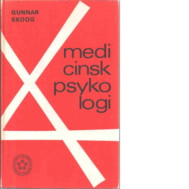 Medicinsk psykologi - Skoog, Gunnar