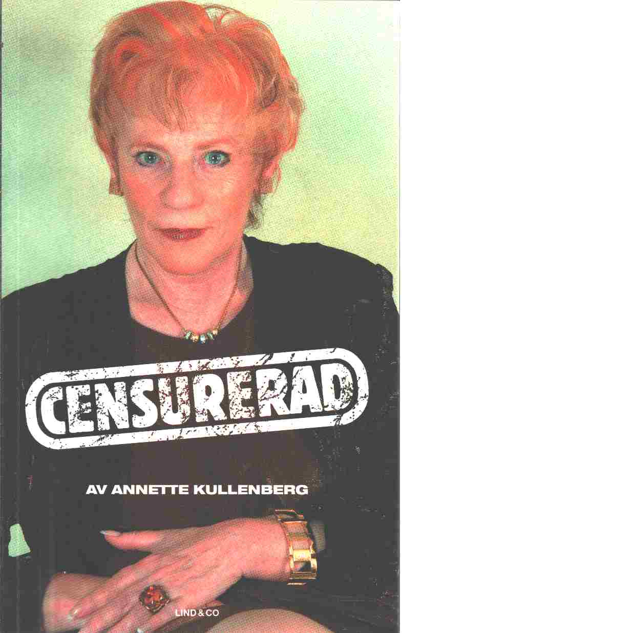 Censurerad - Kullenberg, Annette