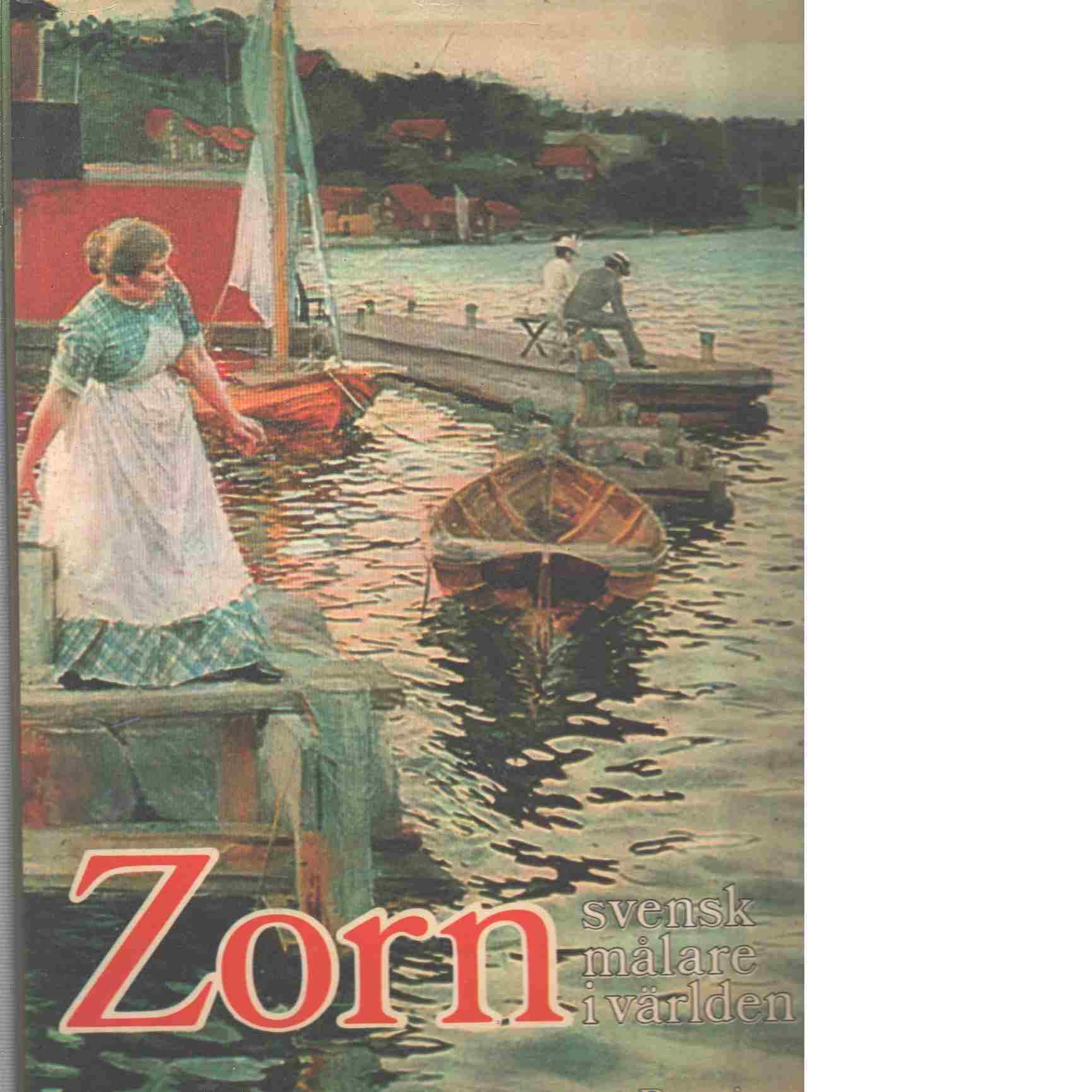 Zorn, svensk målare i världen - Brummer, Hans Henrik