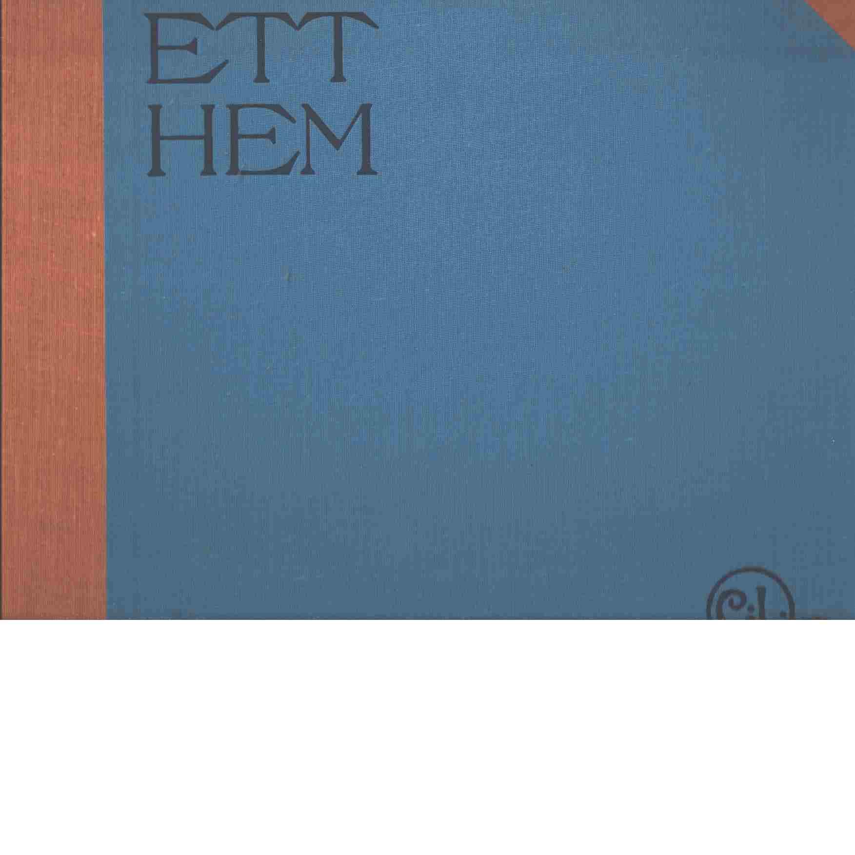 Ett hem : 24 målningar [med text] - Larsson, Carl