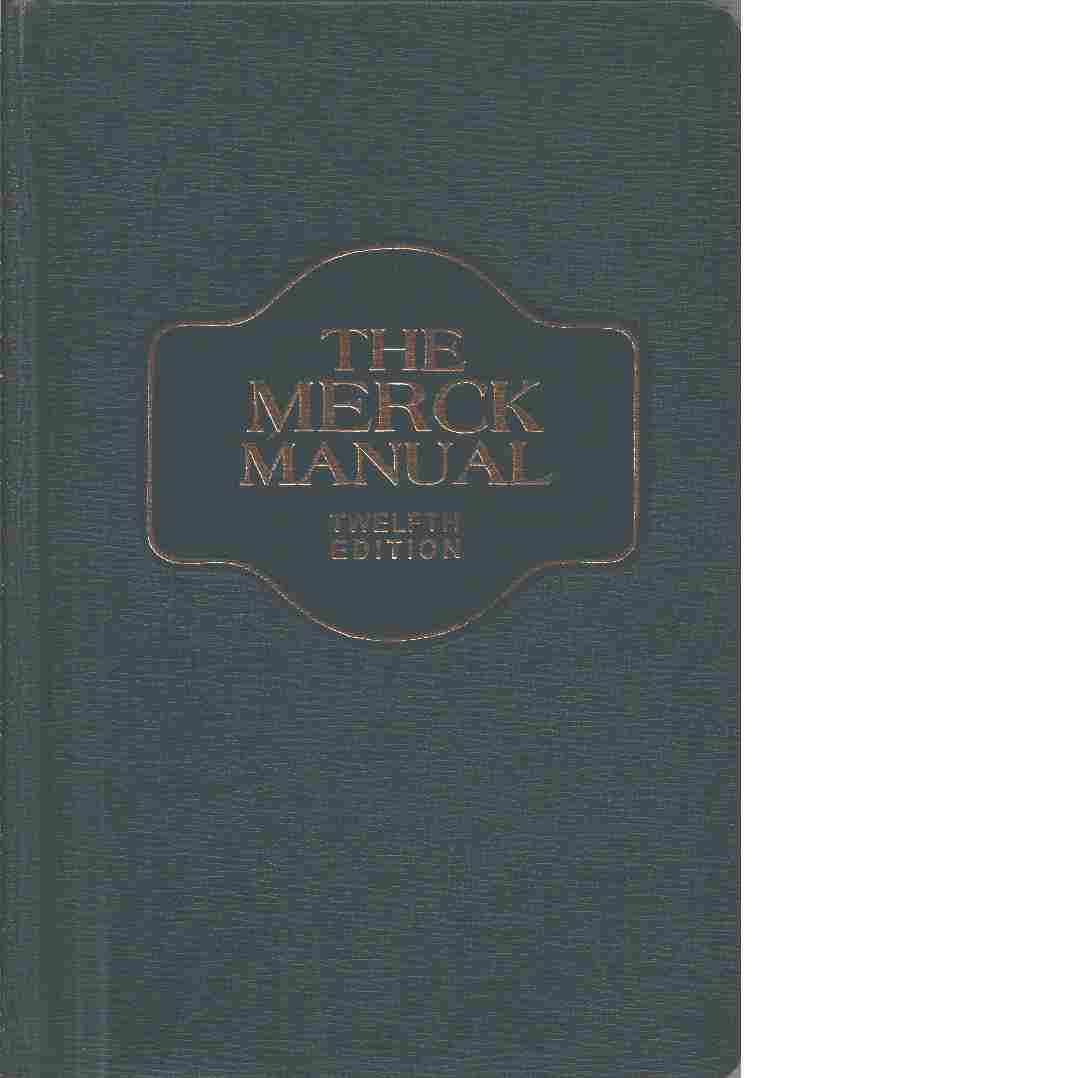 The Merck manual of diagnosis and therapy. - Red. Holvey, David N