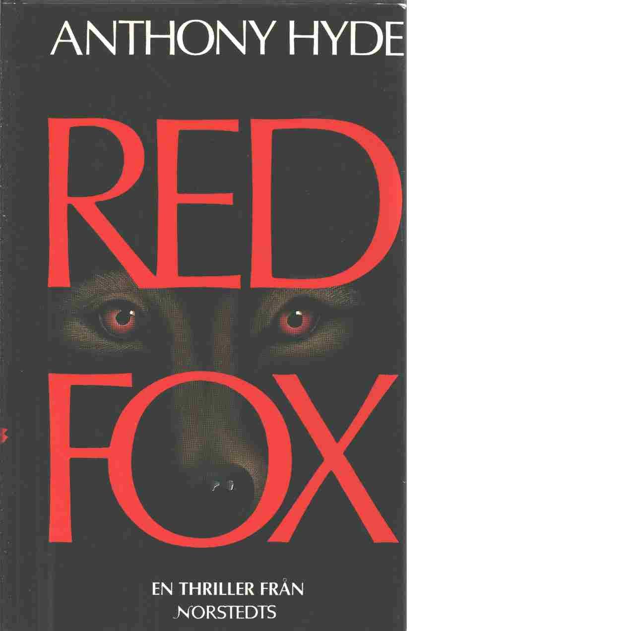 Red fox : [en thriller] - Hyde, Anthony