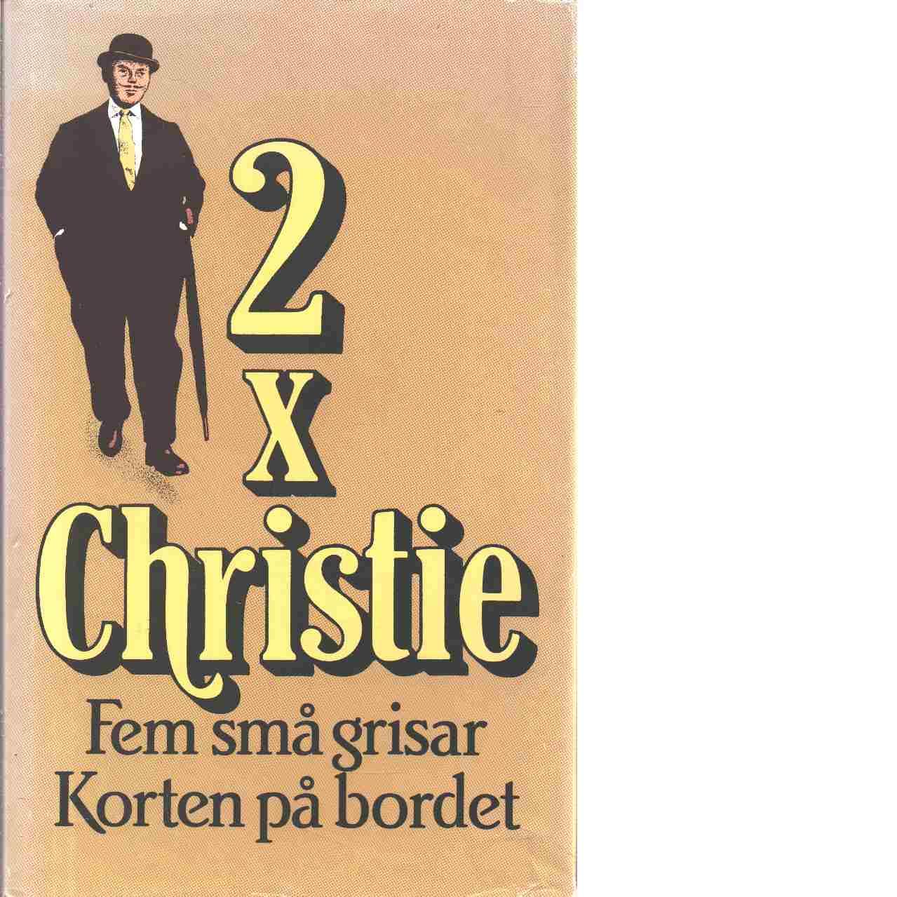 2 x Christie. - Christie, Agatha