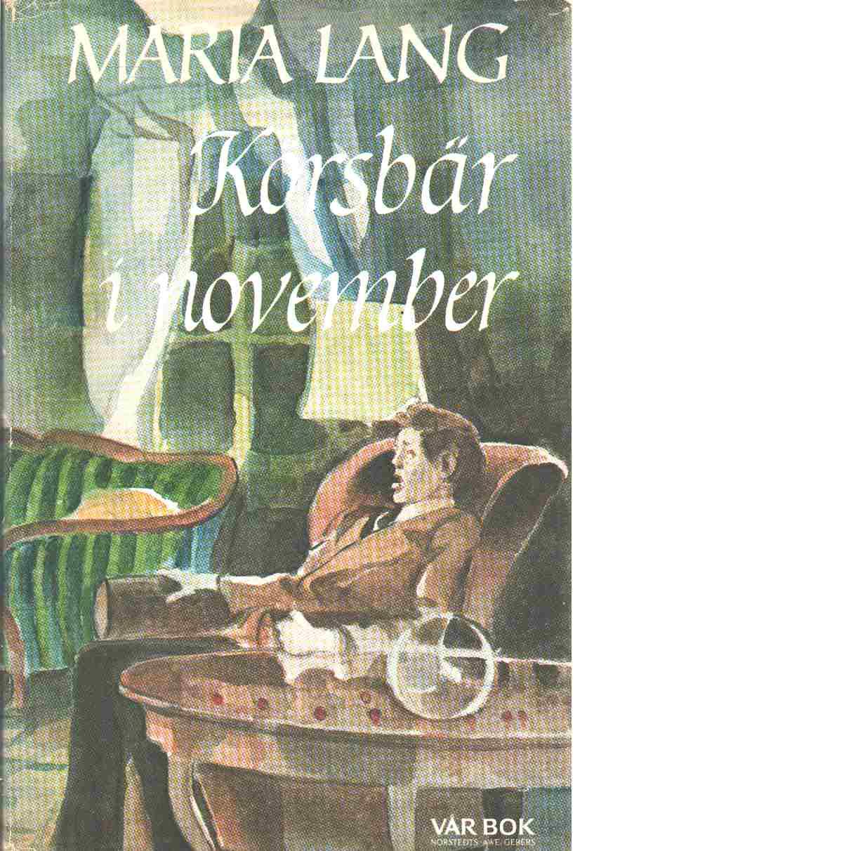 Körsbär i november - Lang, Maria