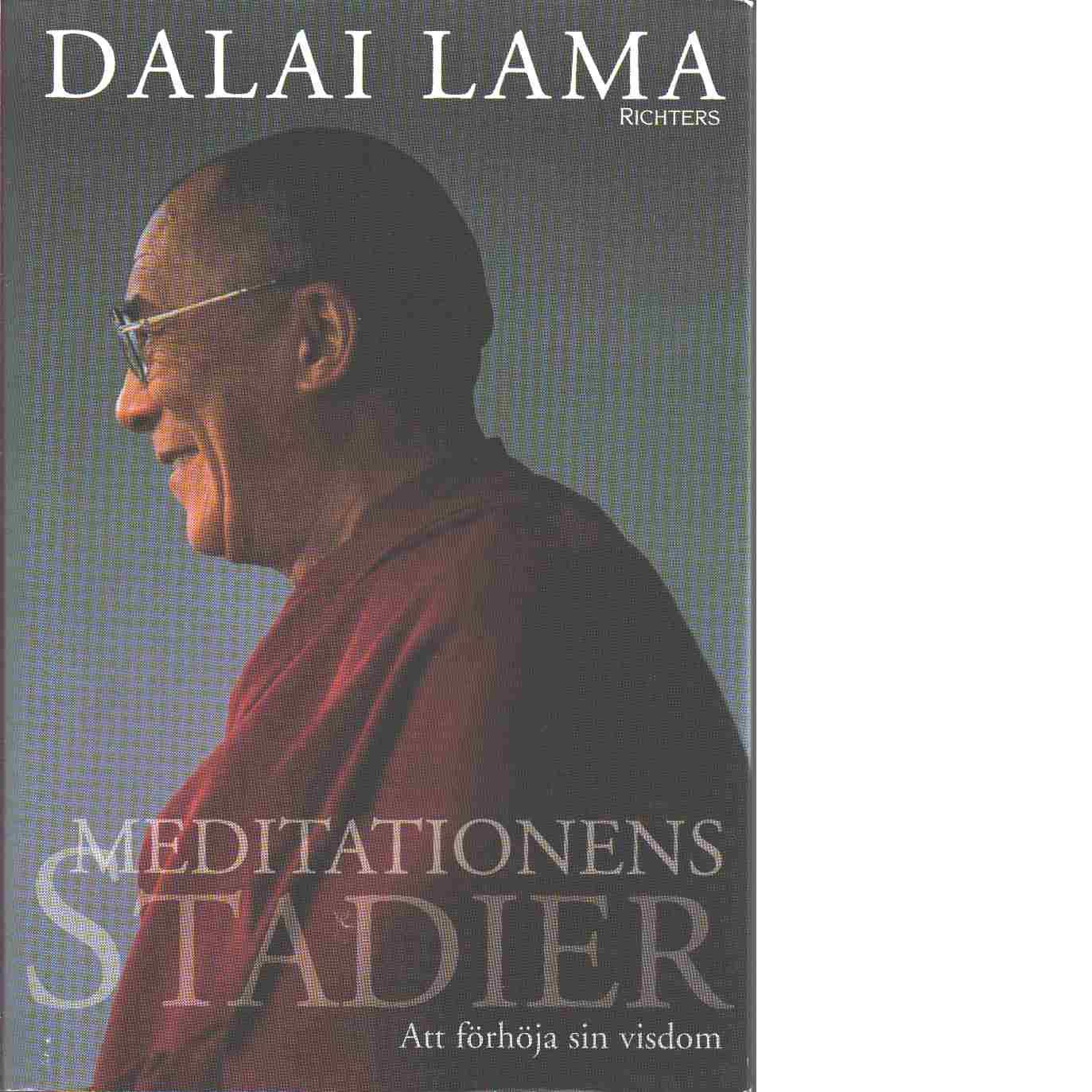 Meditationens stadier : att förhöja sin visdom - Bstan-'dzin-rgya-mtsho Lama Dalai