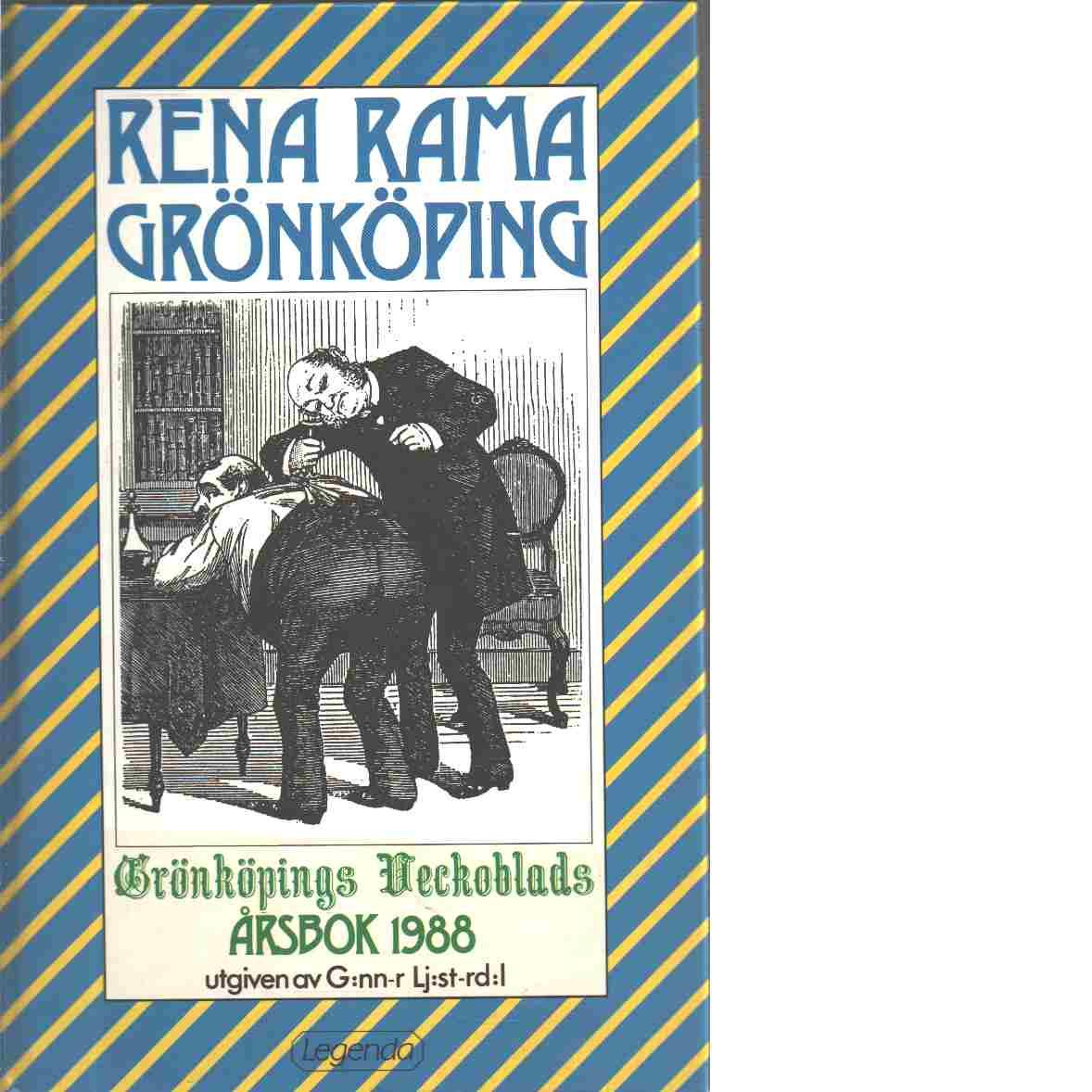 Rena rama Grönköping - Ljusterdal, Gunnar