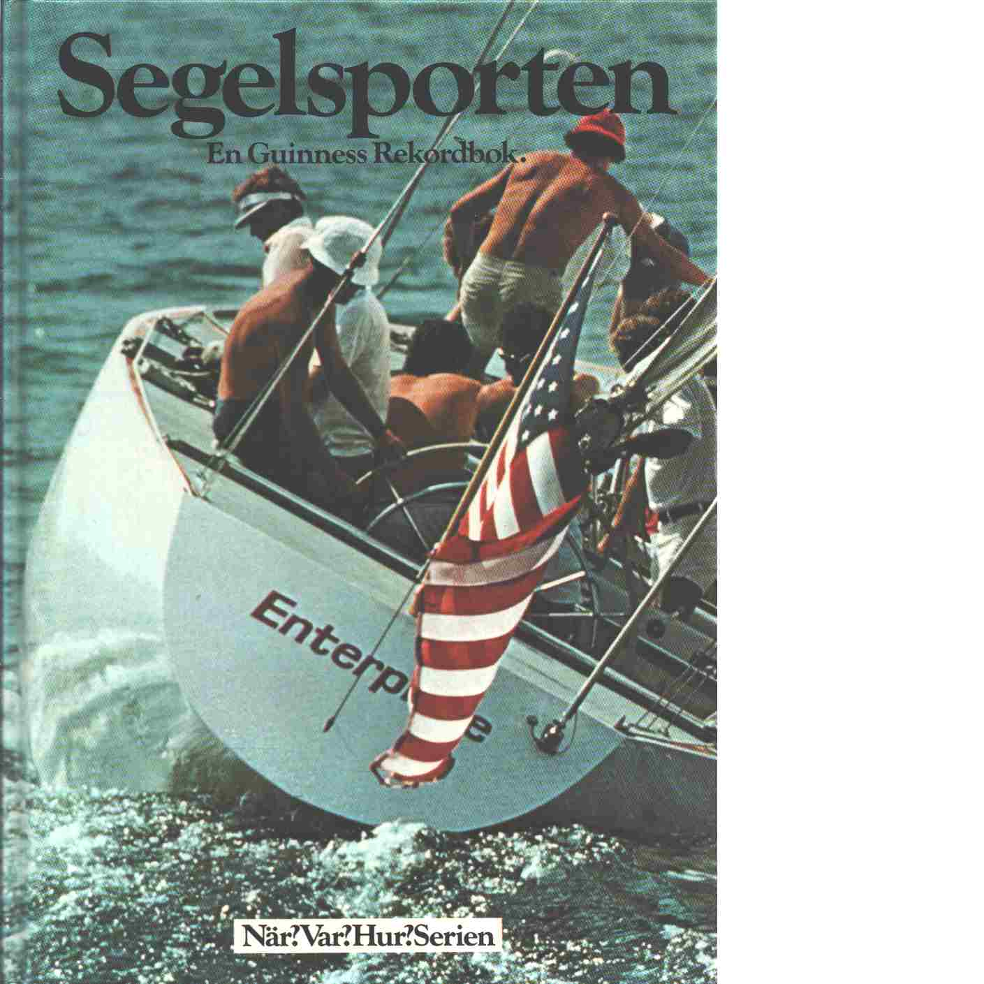 Segelsporten : en Guinness' rekordbok - Johnson, Peter
