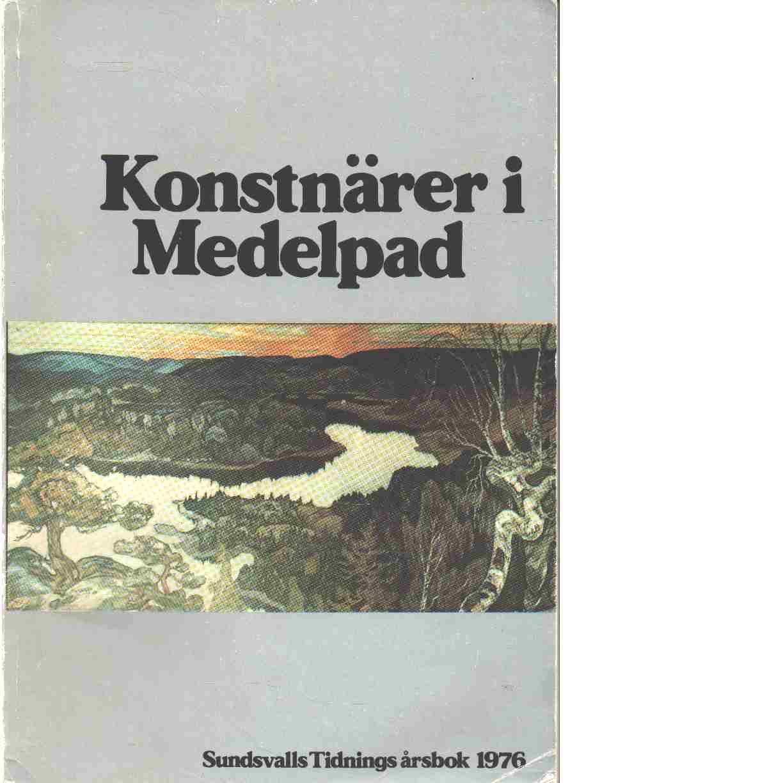 Sundsvalls tidnings årsbok 1976 :  Konstnärer i Medelpad - Hanæus, Åke