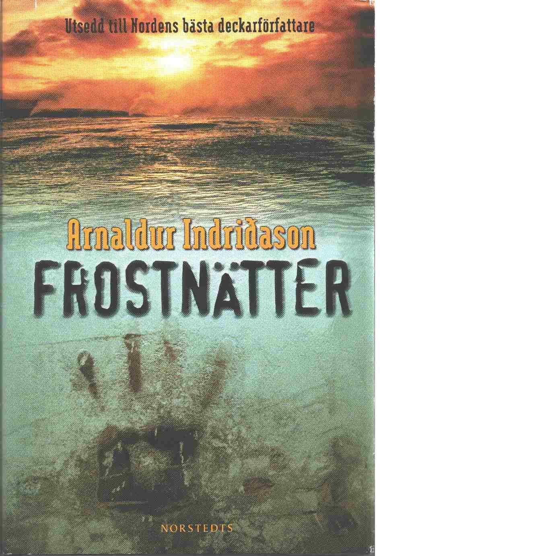 Frostnätter - Indriðason, Arnaldur