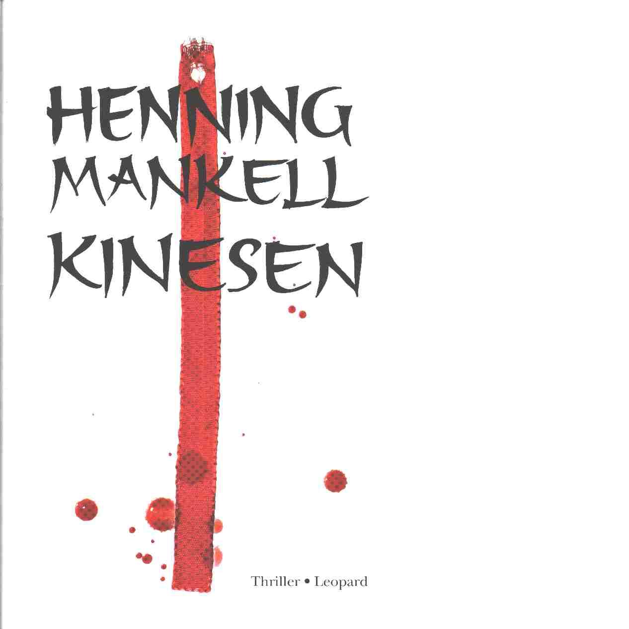 Kinesen - Mankell, Henning