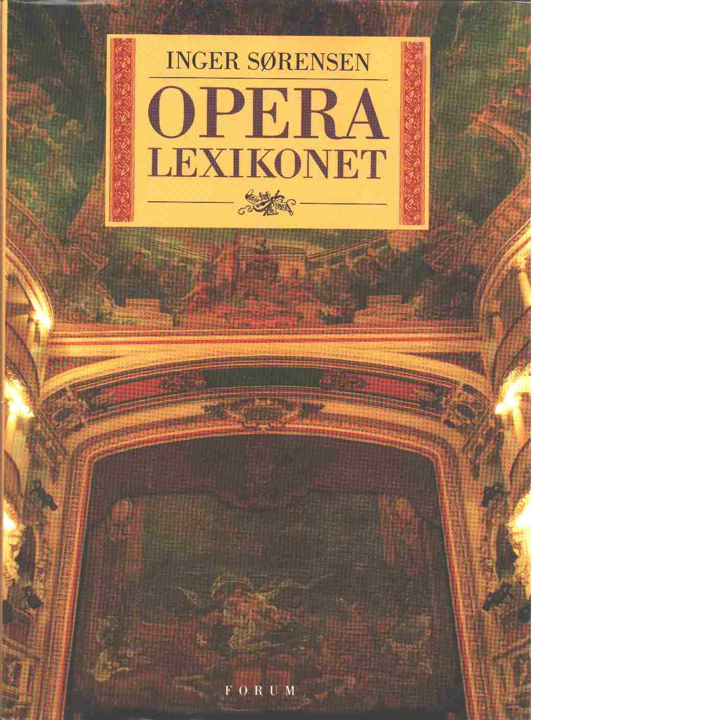 Operalexikonet - Sørensen, Inger