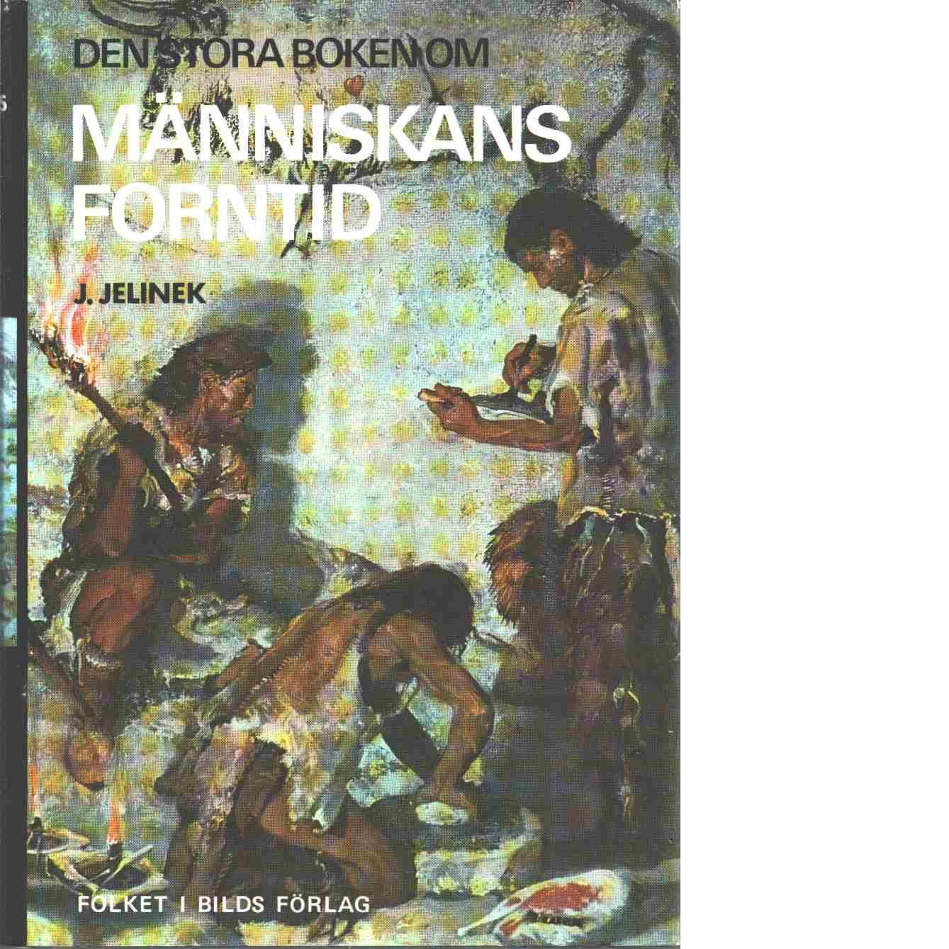 Den stora boken om människans forntid - Jelínek, Jan
