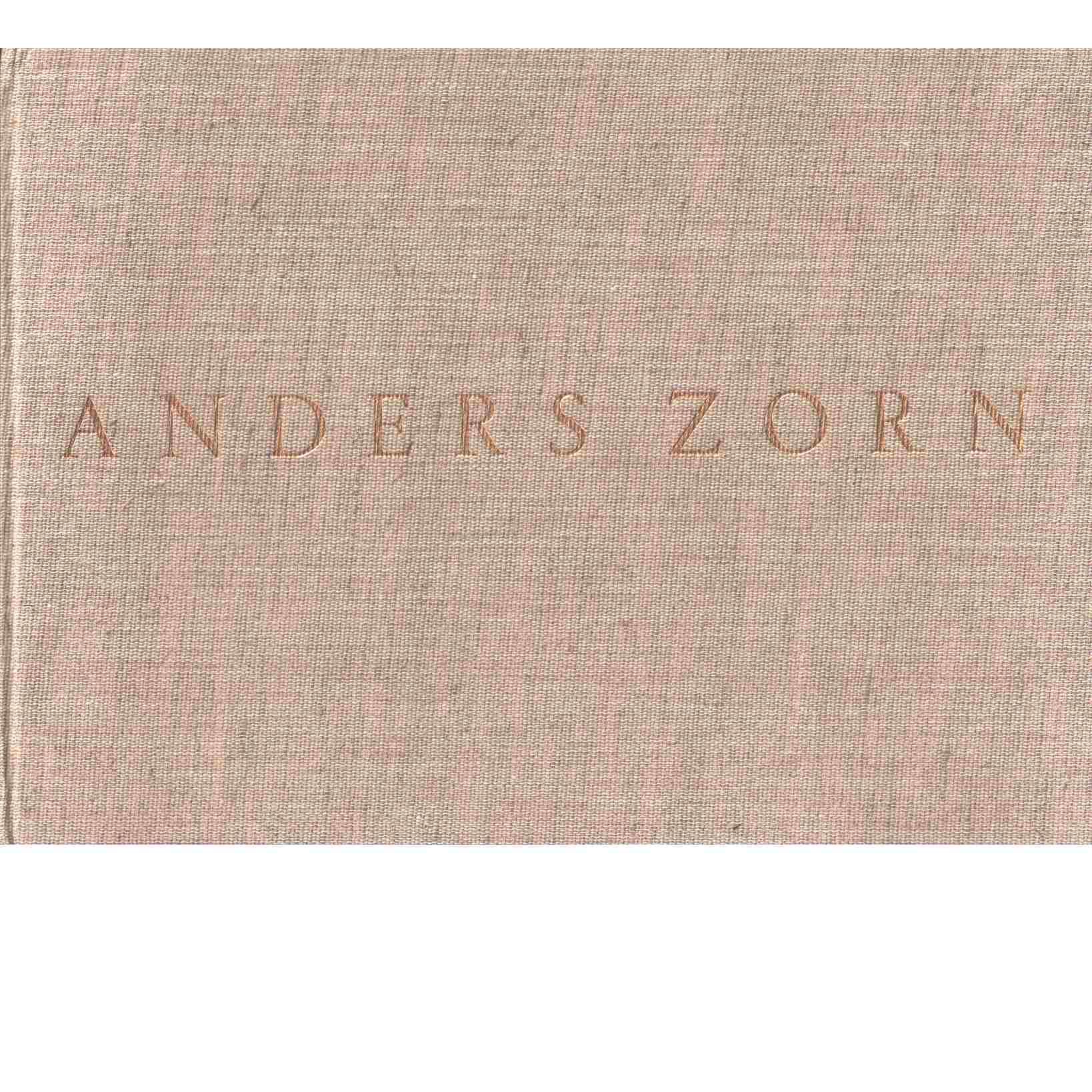 Tecknaren Anders Zorn : ett urval ur hans skissböcker - Zorn, Anders