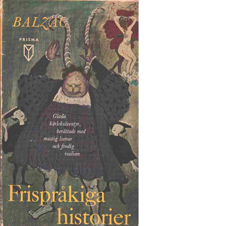 Frispråkiga historier - Balzac,de Honoré