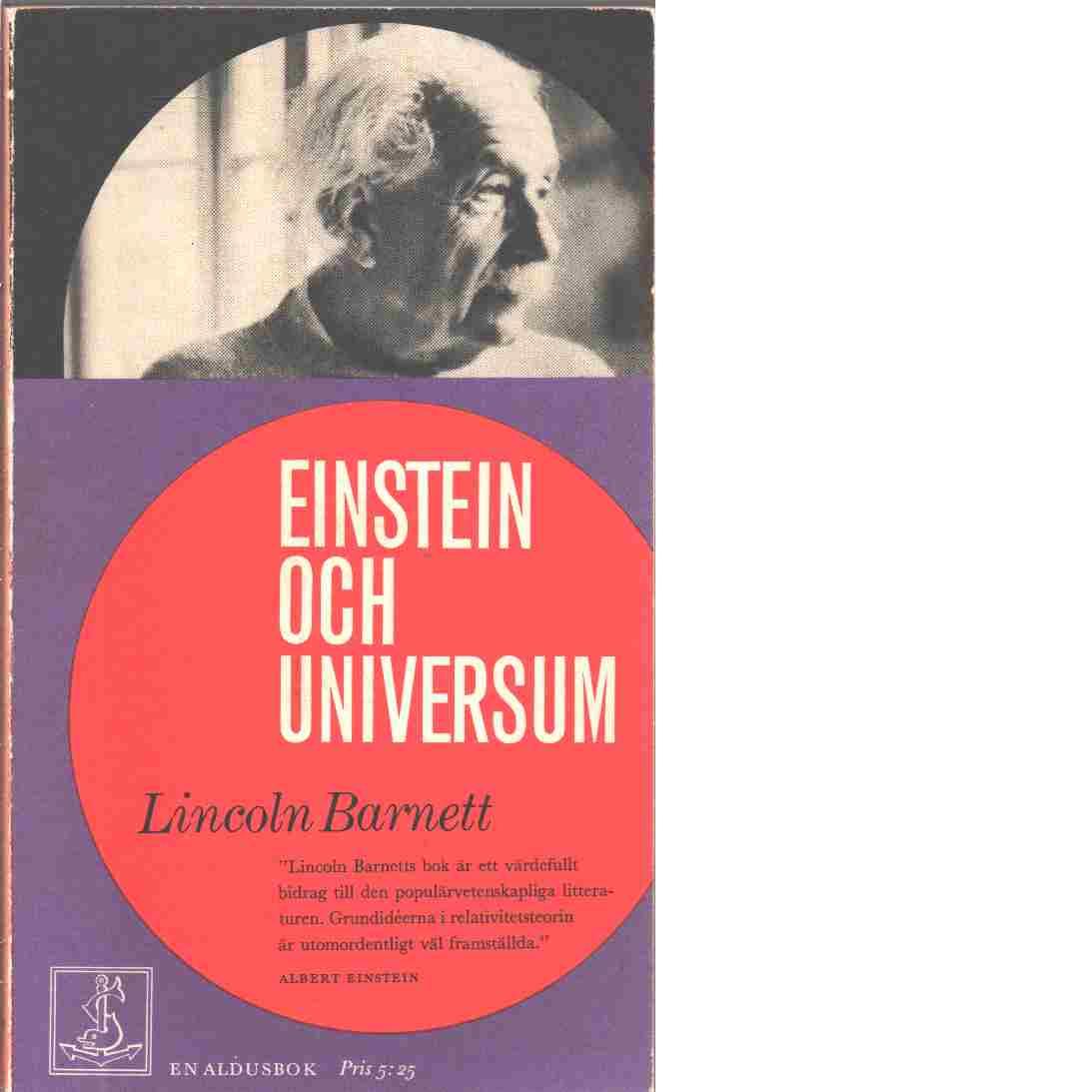 Einstein och universum - Barnett, Lincoln Kinnear