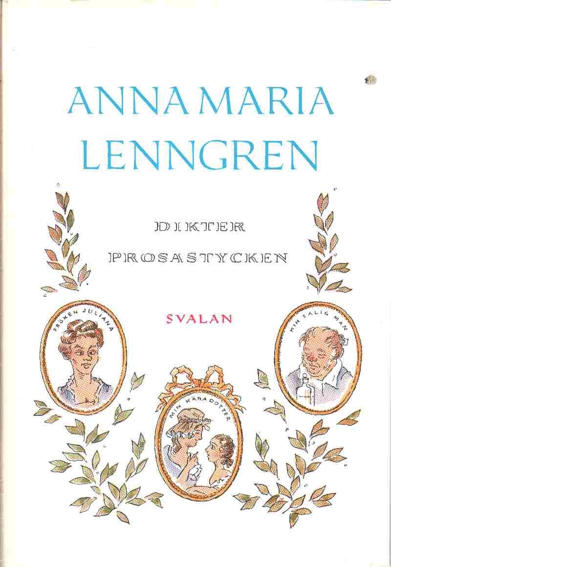 Dikter och prosastycken - Lenngren, Anna Maria