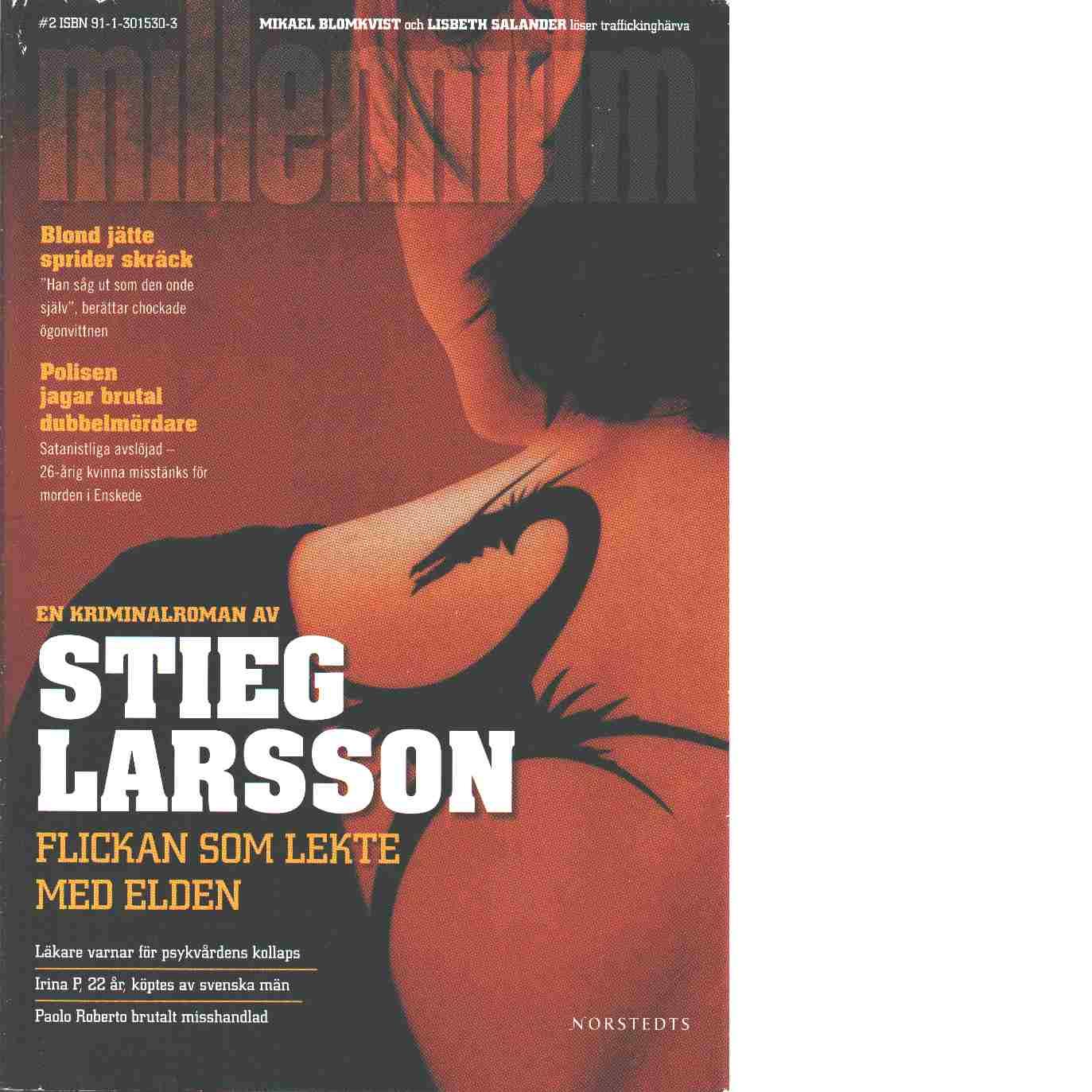 Flickan som lekte med elden - Larsson, Stieg