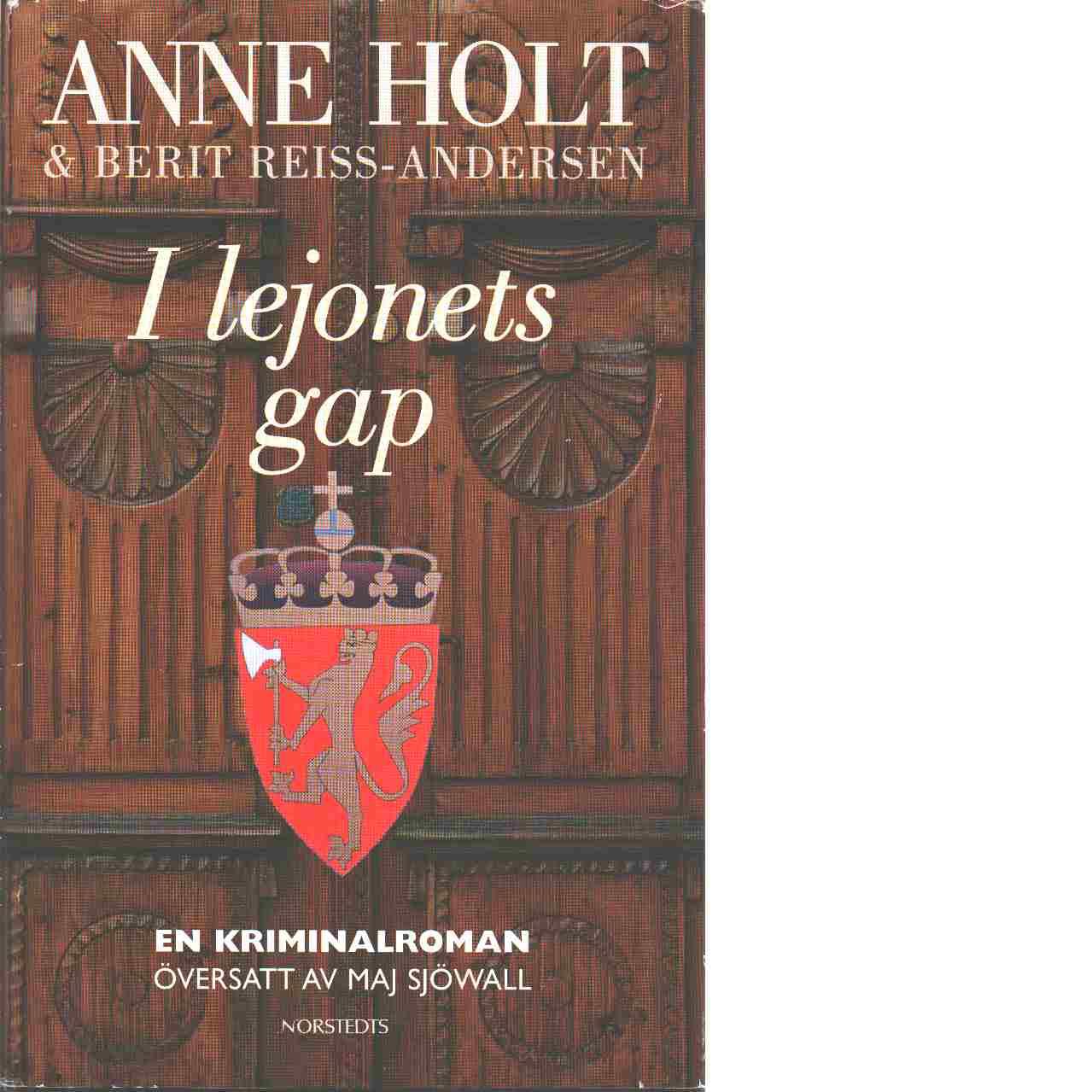 I lejonets gap - Holt, Anne