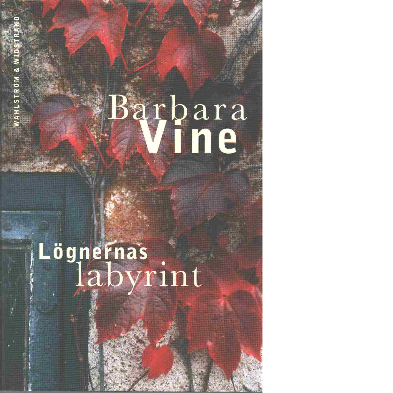 Lögnernas labyrint - Vine, Barbara
