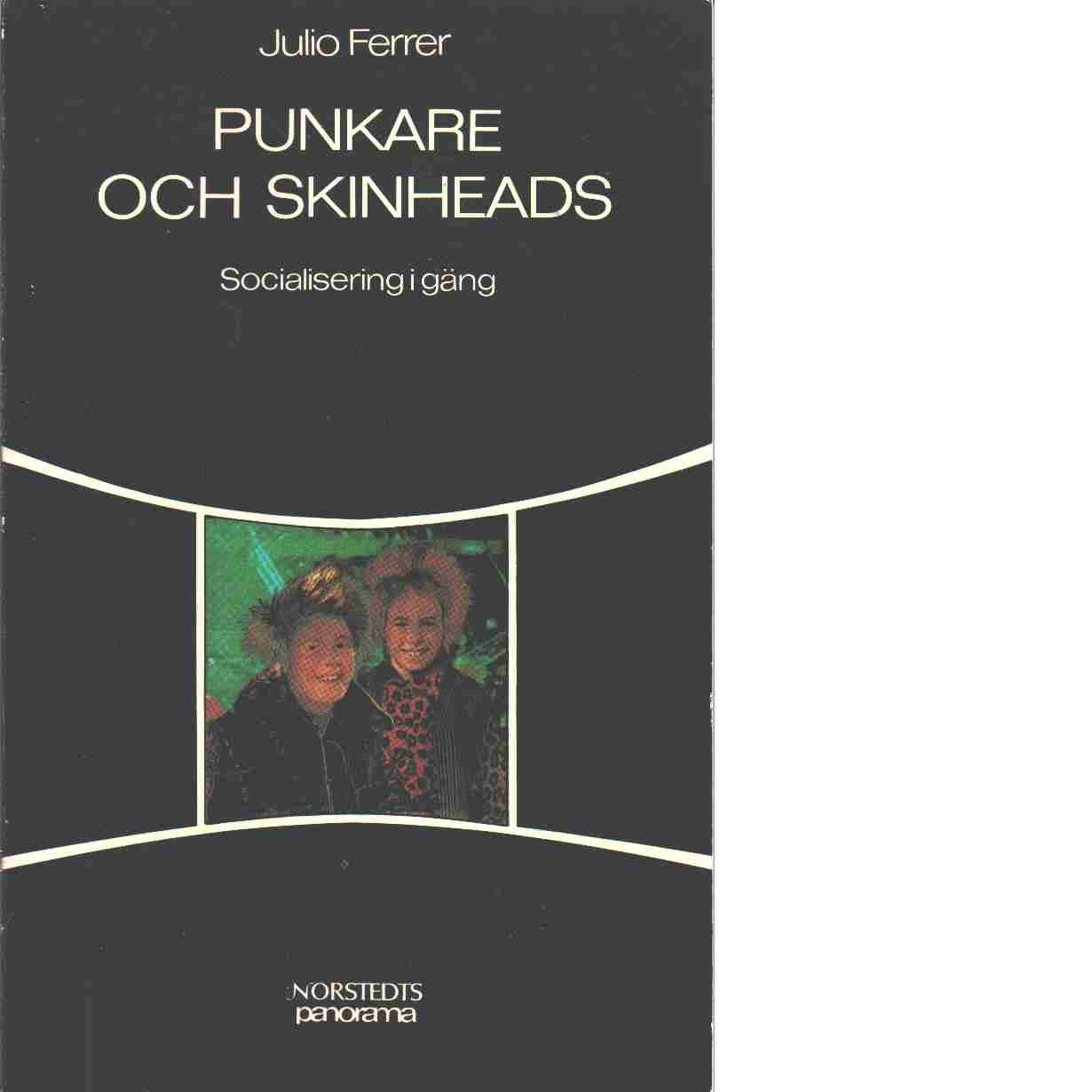 Punkare och skinheads : socialisering i gäng - Ferrer, Julio