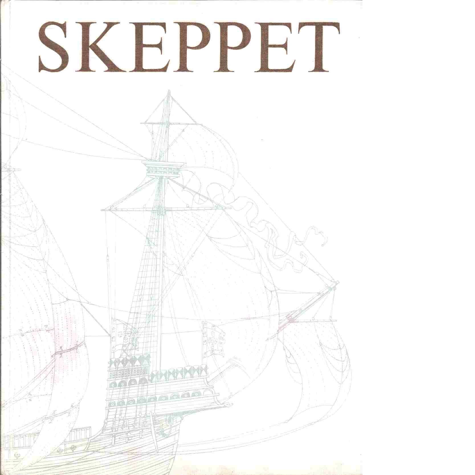 Skeppet : en översikt av skeppets historia från den primitiva flotten till den atomdrivna ubåten - Landström, Björn