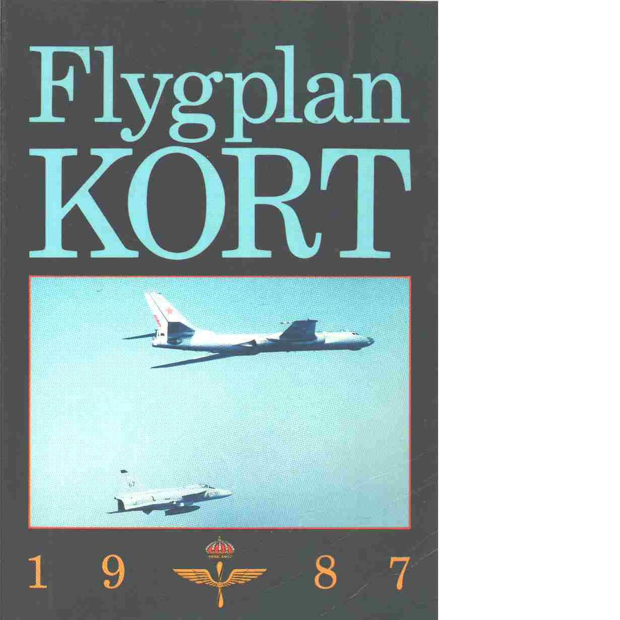 Flygplankort 1987 - Red.