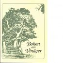 Boken om vinäger - Thacker, Emily