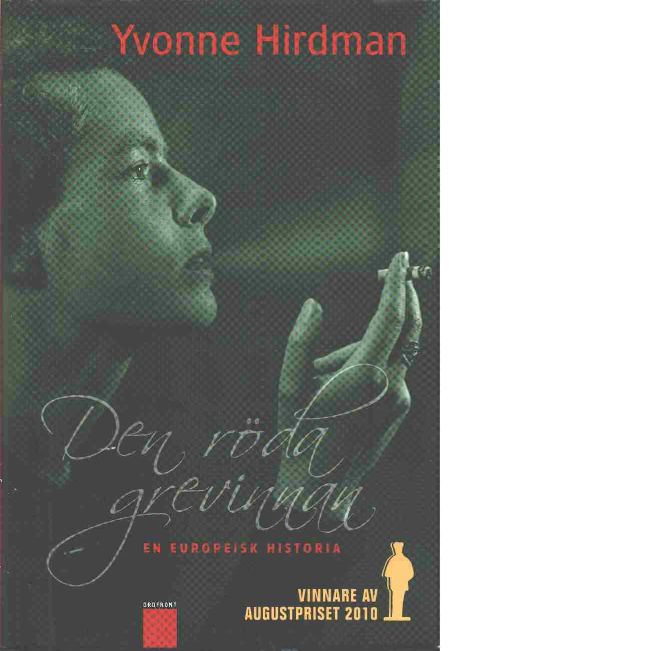 Den röda grevinnan - Hirdman, Yvonne