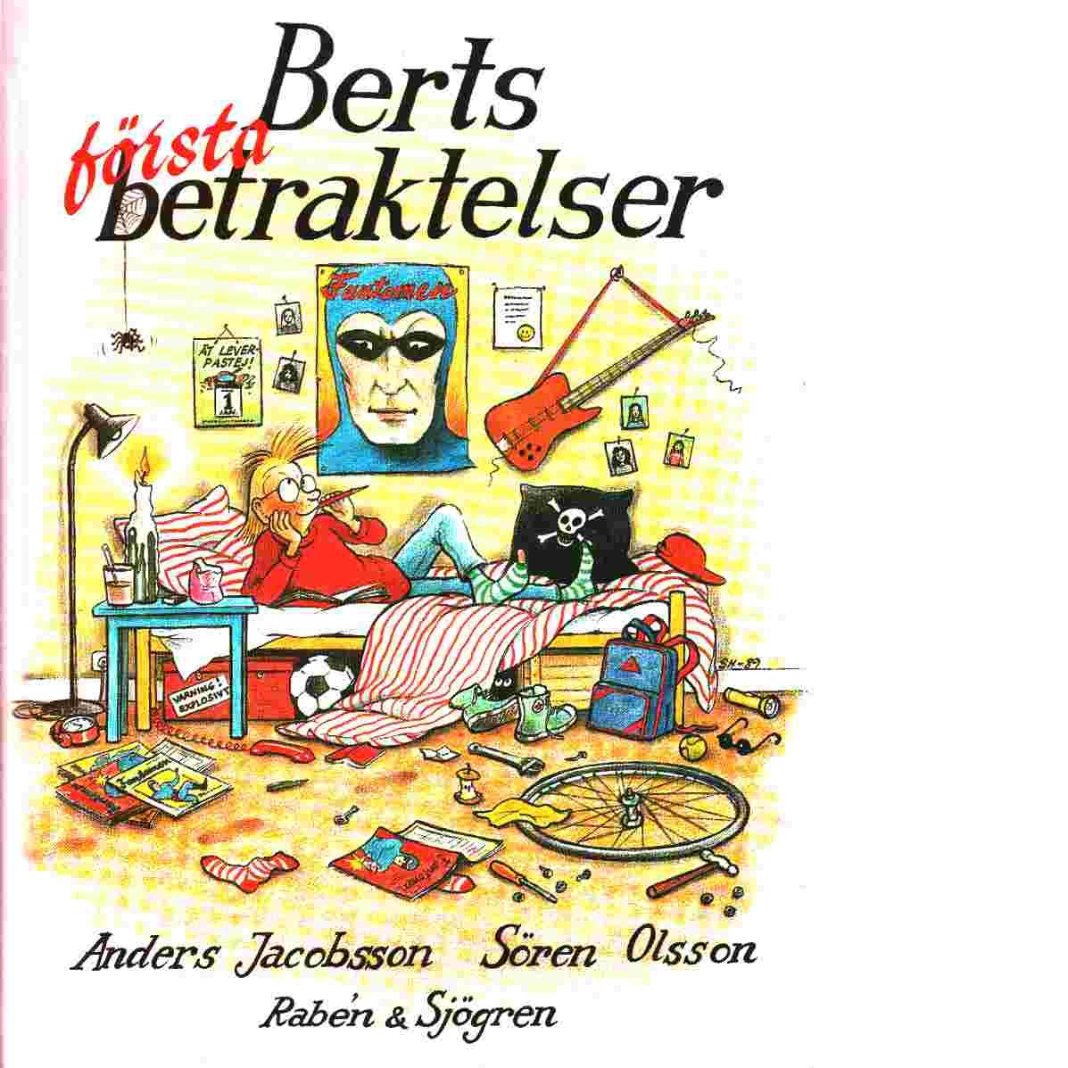 Berts första betraktelser : januari - april - Jacobsson, Anders  och  Olsson, Sören