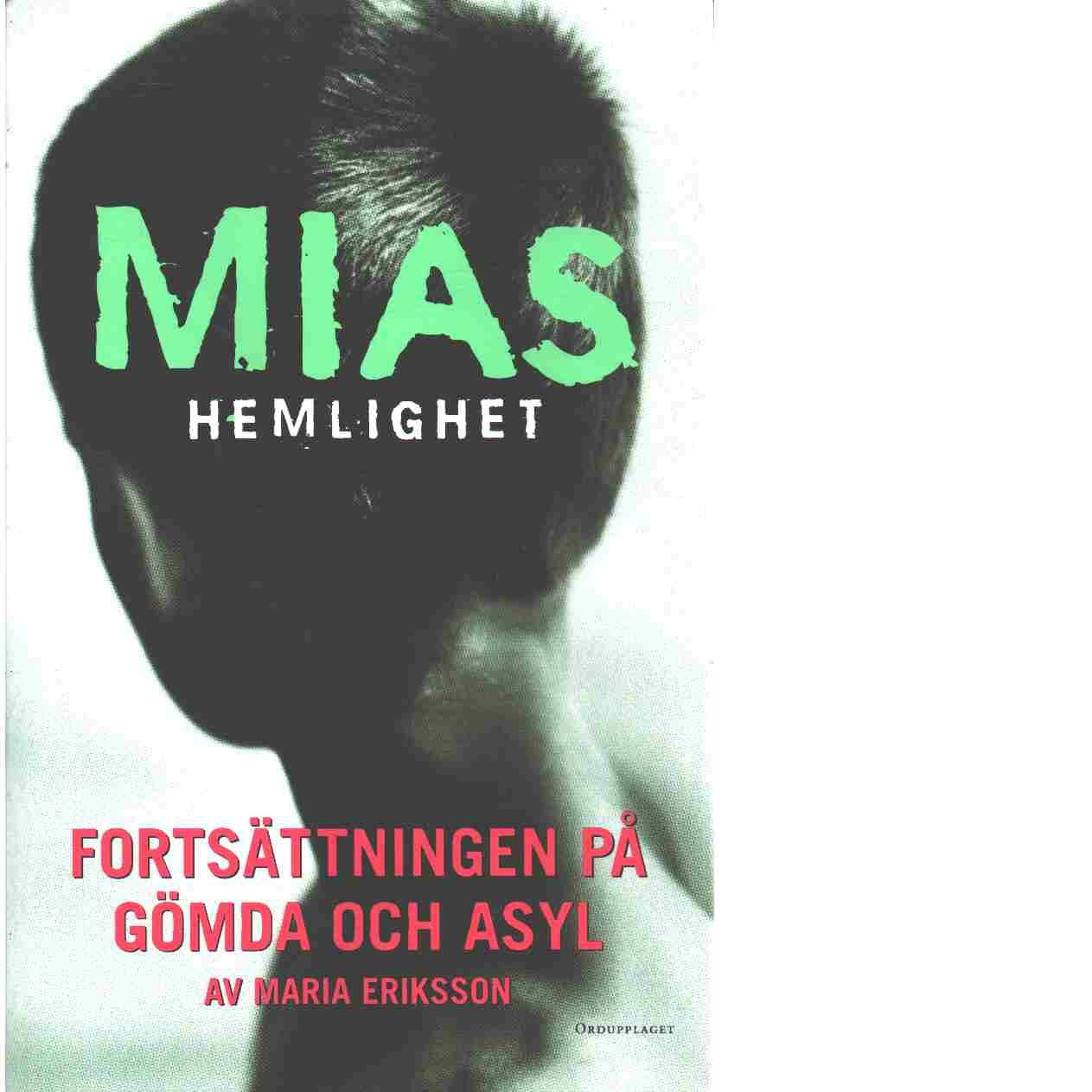 Mias hemlighet - Eriksson, Maria