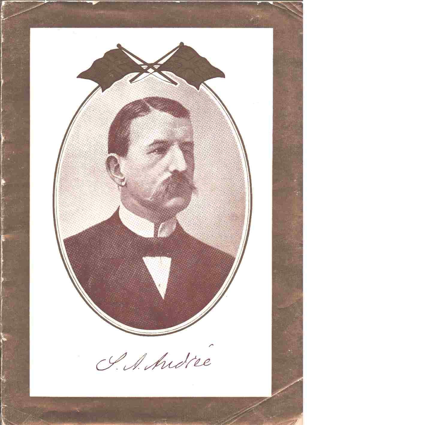 Minnesalbum : S. A. Andrée - Andrée, Salomon August