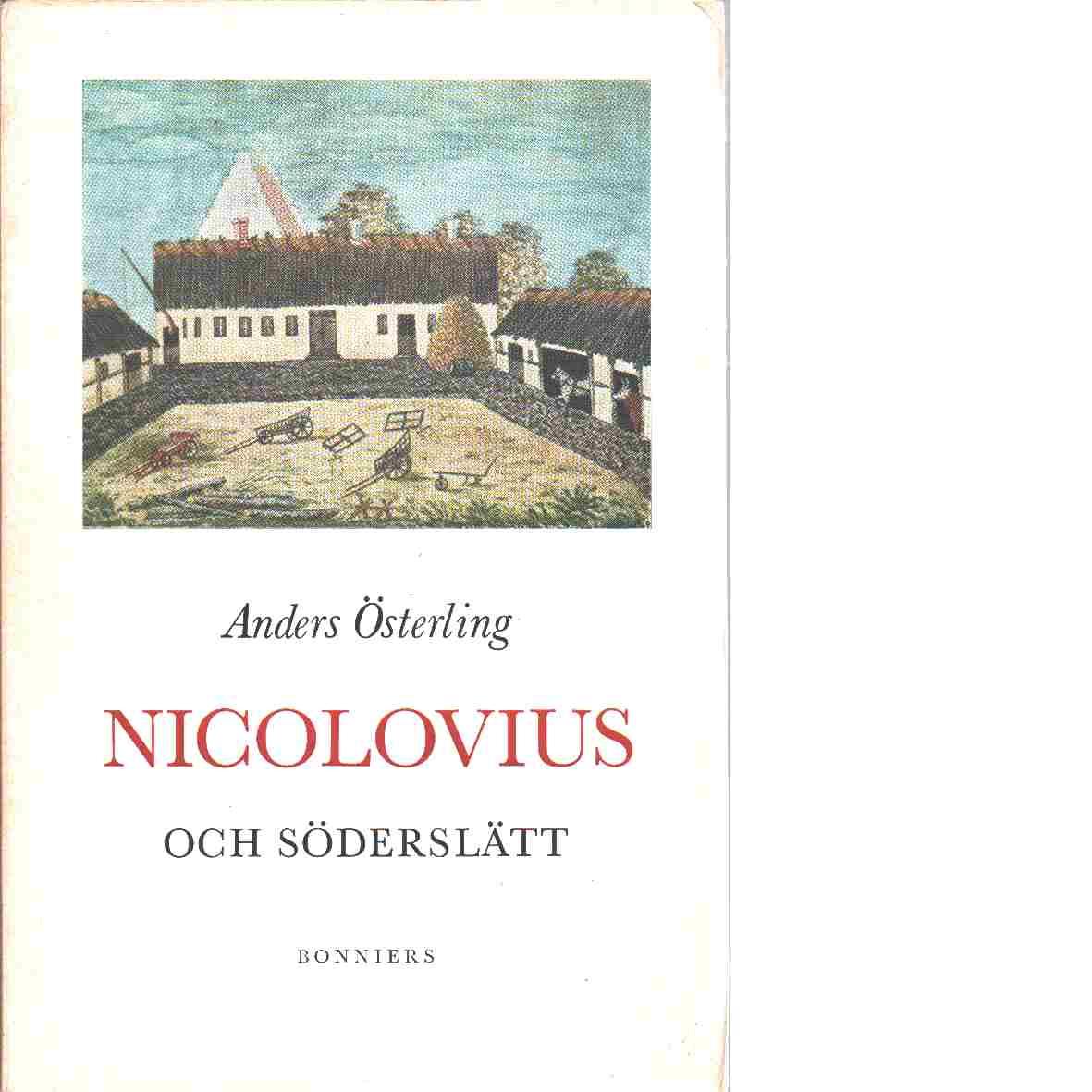 Nicolovius och Söderslätt - Österling, Anders