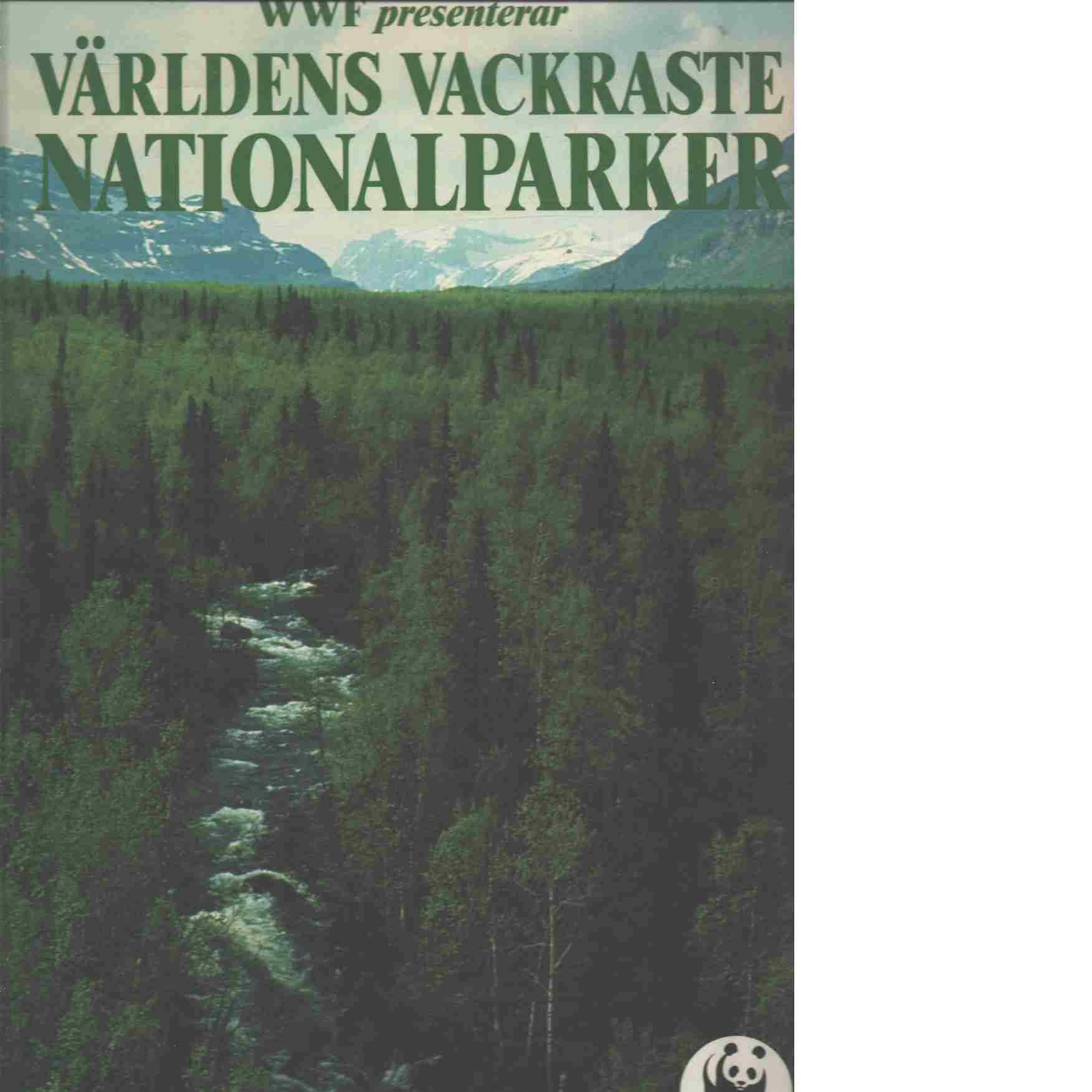 WWF presenterar världens vackraste nationalparker - Grundsten, Claes