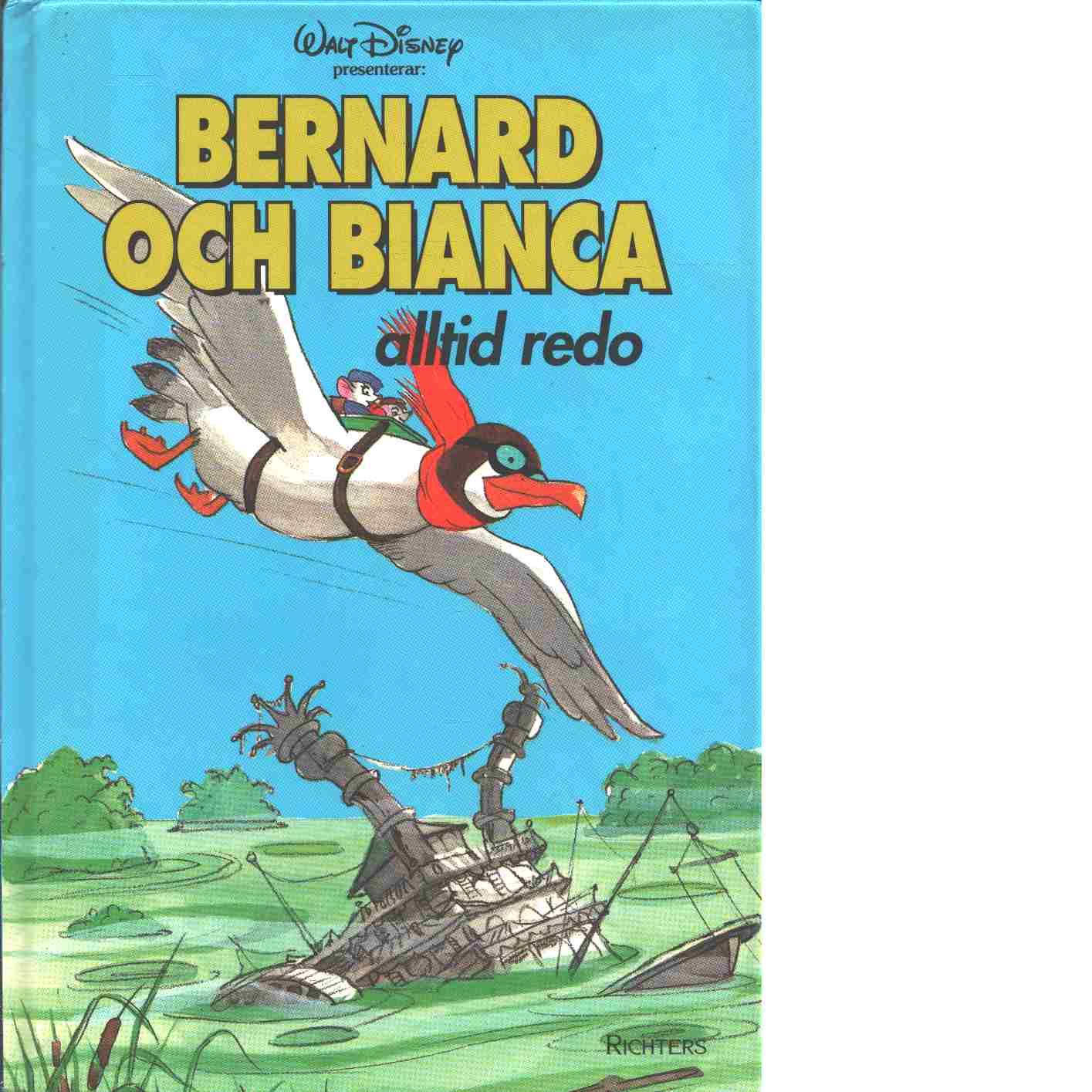 Bernard och Bianca alltid redo - Red Walt Disney Company