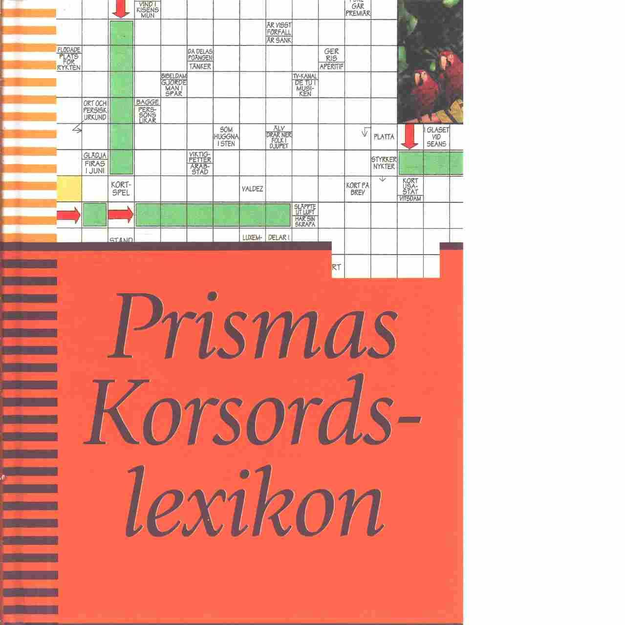 Prismas korsordslexikon - Red.